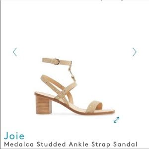 Joie | Medalca Studded Suede Sandals